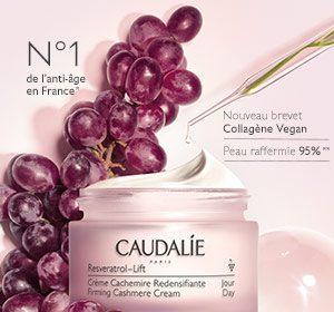CAUDALIE RESVERATROL LIFT crème CACHEMIRE